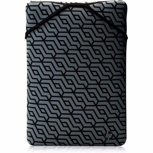 HP laptop sleeve Reversible 14 (Zwart/Geo)