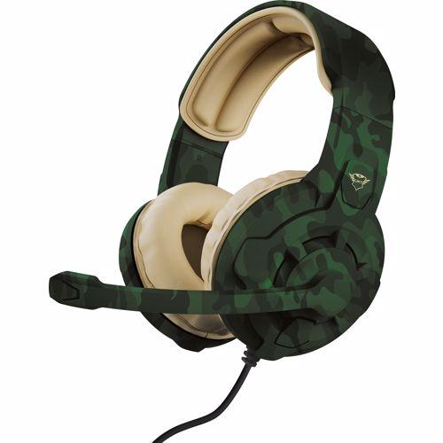 Trust gaming headset GXT 411C Radius (Jungle Camouflage)