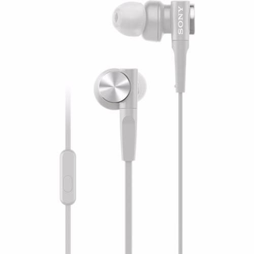 Sony in-ear oordopjes MDR-XB55APW (Wit) 4548736130449