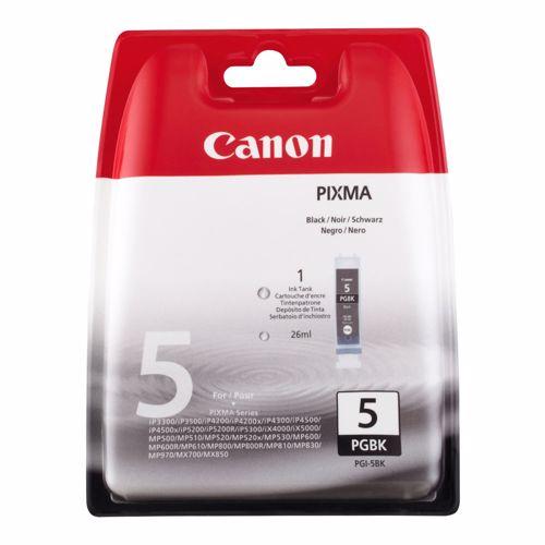Canon cartridge PGI 5 BK zwart