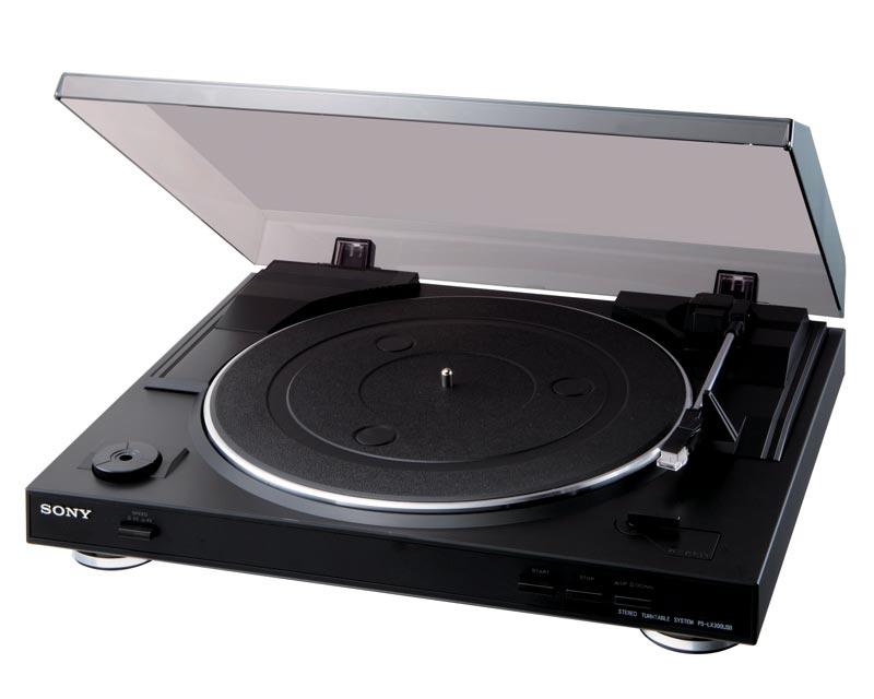 Sony USB platenspeler PSLX300USB