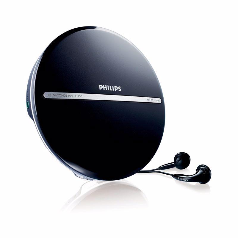 Philips EXP2546 Draagbare MP3-CD-speler