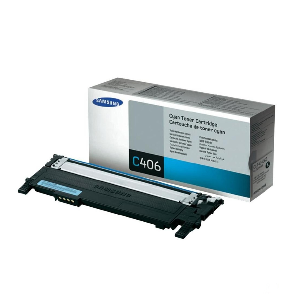 Samsung toner cartridge CLT406S C cyaan