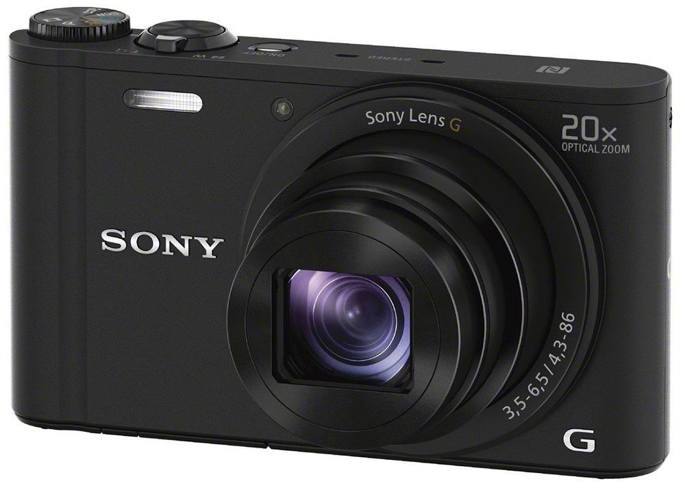 Sony compact camera DSC WX350 Zwart