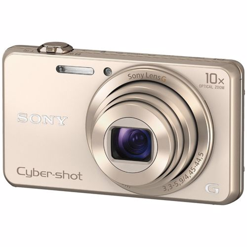 Sony compact camera DSC WX220 Goud