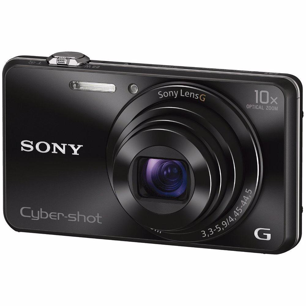 Sony compact camera DSC-WX220 (Zwart)