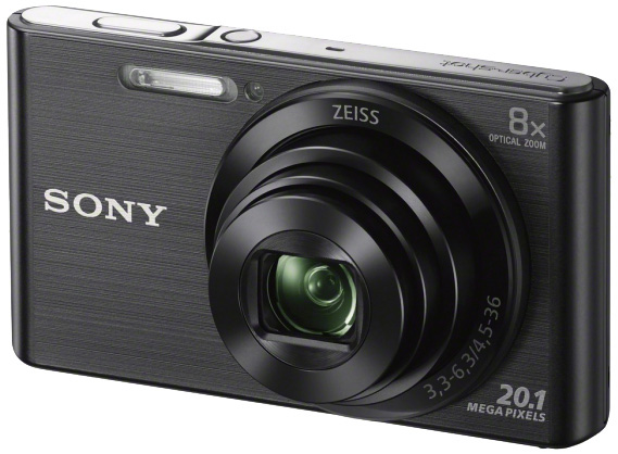 Sony compact camera DSC W830 Zwart