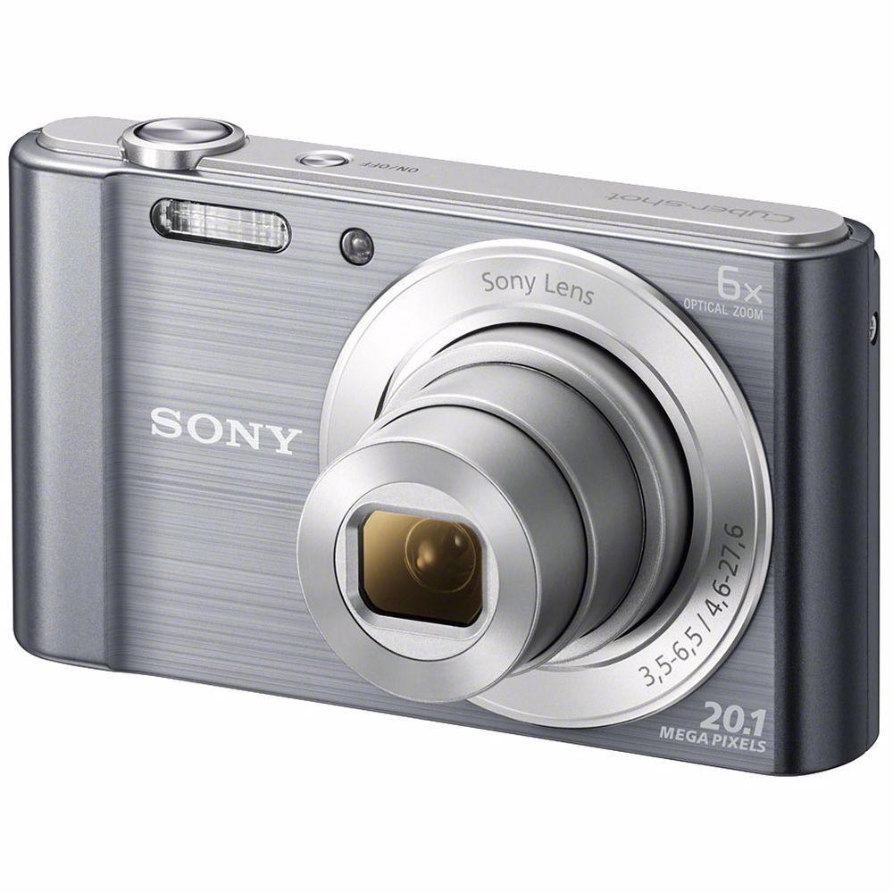 Sony compact camera DSC-W810 (Zilver)