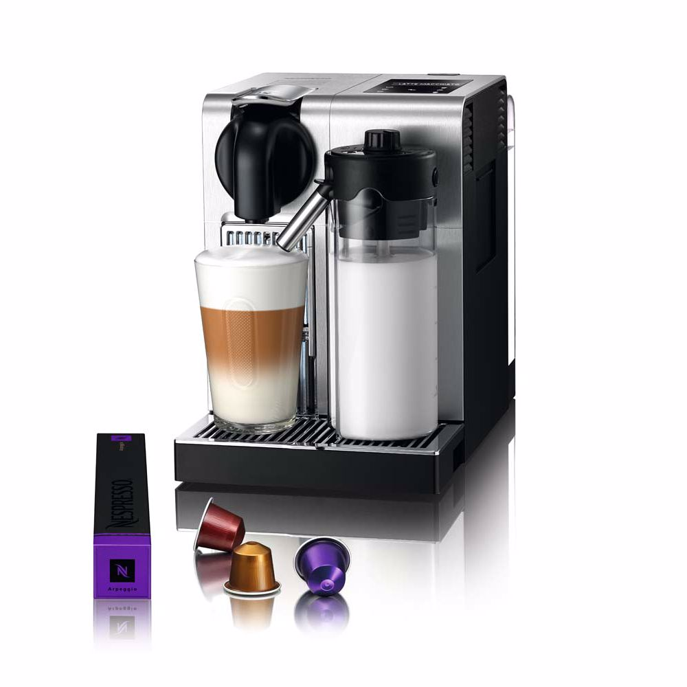 Nespresso DeLonghi koffieapparaat Lattissima Pro EN750 (Zilver)
