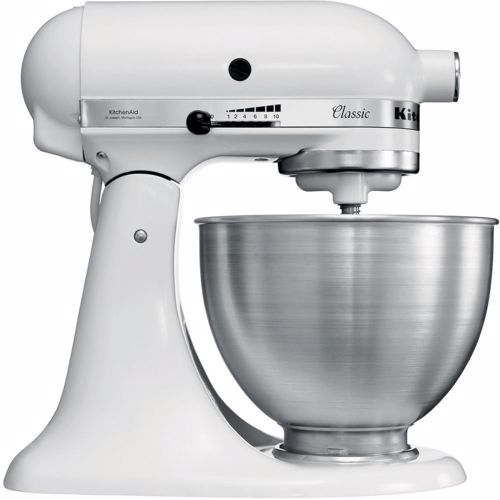 KitchenAid keukenmachine Mixer Classic 5K45SS wit