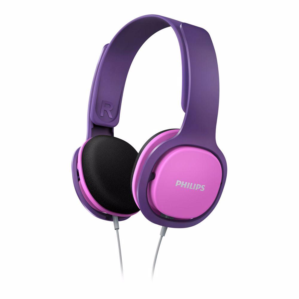Philips koptelefoon SHK2000PK (roze/paars)