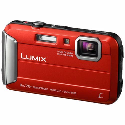 Panasonic compact camera Lumix DMC FT30 Rood