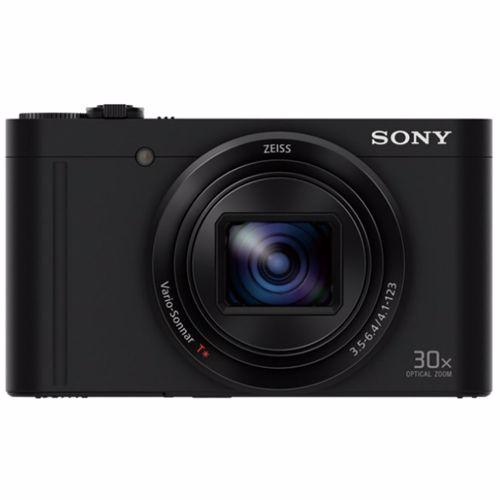 Sony compact camera DSC-WX500 (Zwart)
